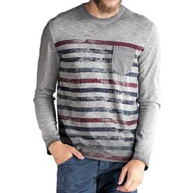 9ed2d631b12c μπλουζες ανδρικες μακρυμανικες φθηνες Edward · Edward - 16.1.1.01.074 -  Μπλούζα Μακό Μακρυμάνικο - gray