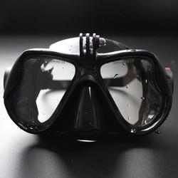 c2c52b64bc5 Μάσκα Κατάδυσης με Προσαρμογέα για την Κάμερα GoPro Xiaomi Yi και Παρόμοιες  - Μαύρο