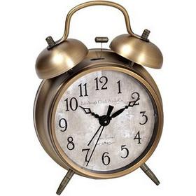 Επιτραπέζιο Ρολόι Μεταλλικό Στρογγυλό Μπρονζέ Model.No.668 (OEM) fe6a0c79a94