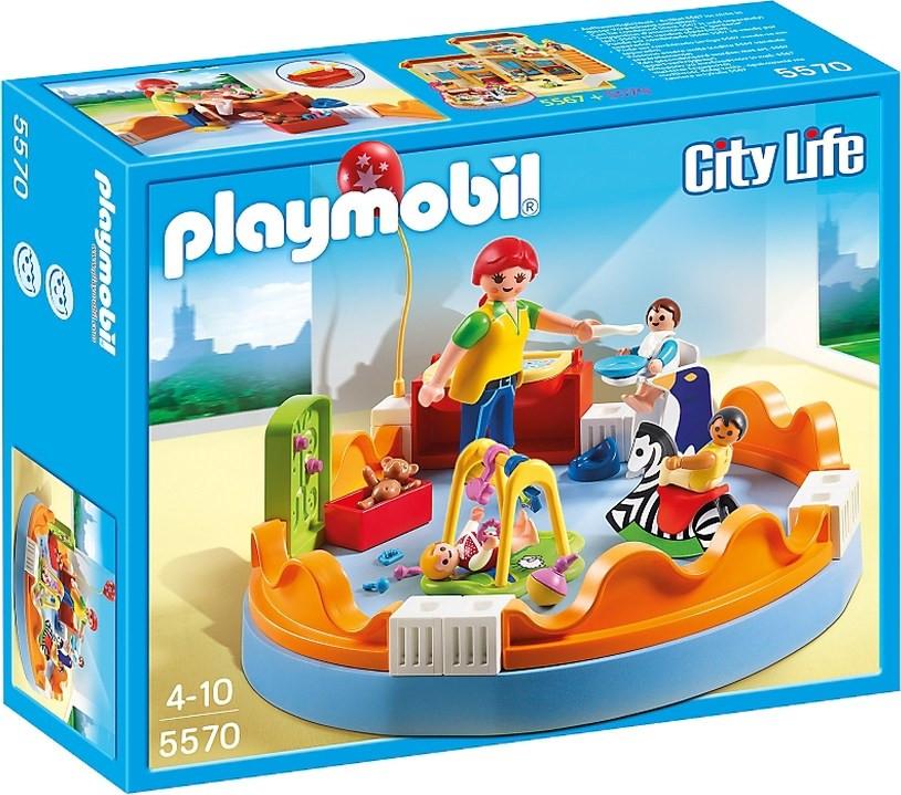 Playmobil City Life - Baby Παιδική Χαρά 5570 | BestPrice.gr
