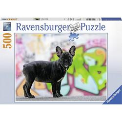 Ravensburger Παζλ 500 τεμ. Γαλλικό Μπουλντόγκ 14771 48e474b2010
