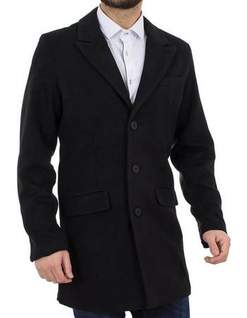 Ανδρικό Παλτό Jacket PRIME FASHION 38-201-102 Μαύρο 49919723cbc