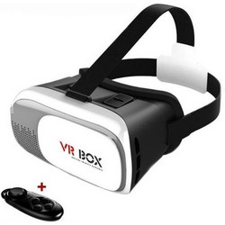VR BOX V2 With Bluetooth Controller