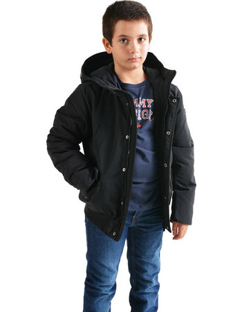 4fa447d06f8 Tommy Hilfiger Arctic Hooded Bomber Jacket - Παιδικό Μπουφάν  KB0KB04381-014. Adidas