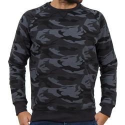 Ανδρικό Μπλούζα Φούτερ Terry Fleece DOUBLE MTOP-35 Γκρι σκούρο παραλλαγής e70ed2944ca