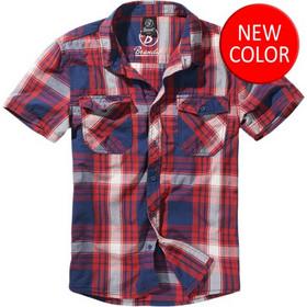 f7c5e179706a Brandit Roadstar Shirt Red - Blue 1 2 Sleeve