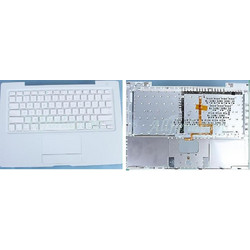 APPLE White Original Version 1 US Keyboard + Trackpad Top case for Apple Macbook A1181 A1185 13.3 - Πληκτρολόγιο