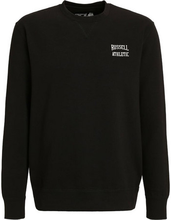 6a8127662c56 RUSSELL ATHLETIC Ανδρική Μπλούζα Φούτερ CREW NECK SWEAT WITH SMALL EMB (A6- 028-