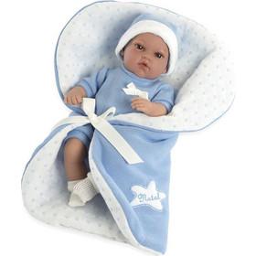 3ad6eacdc56 Munecas Arias Μωρό Με Υπνόσακο Κουβερτάκι Γαλάζιο 33cm