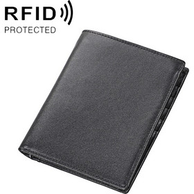 4531f7041b 8235 Antimagnetic RFID Multi-function Crazy Horse.