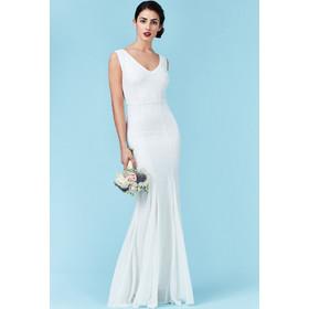 bridal αέρινο maxi φόρεμα degraded mini paillettes 1d54f5c4e87