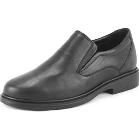 fba7562f320 Ανδρικά Μοκασίνια Δερμάτινα, Safe Step Shoes, Χρώμα Μαύρο Κωδ. 72209