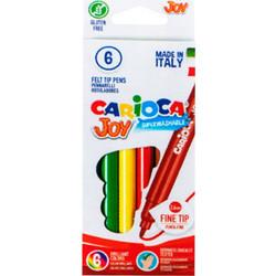 826b6a8a7d Μαρκαδόροι ζωγραφικής Carioca Joy 6 τεμάχια
