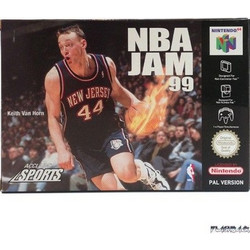 NINTENDO 64 NBA JAM 99 DEUTSCHE VERSION