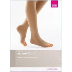 Duomed Medical Κάλτσες Συμπίεσης Κάτω Γόνατος 1 ζευγάρι Μπεζ a1a4c820857