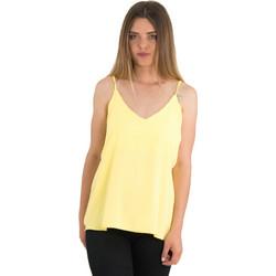 2cd98d6318c2 Γυναικεία κίτρινη μπλούζα ραντάκι μονόχρωμη Coocu 36974L