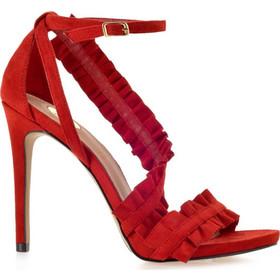 EXE Shoes Πέδιλα Γυναικεία SILVIA-758 Κόκκινο Καστόρι 42301 1f75370e0e6