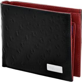 9dbf2eaf4c Πορτοφόλι Visetti μαύρο και κόκκινο δερμάτινο LO-WA022BR