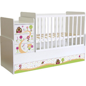 62cf8adbde1 Πολυμορφικό κρεβάτι Polini Kids, Simple 1100 Gingerbread house Polini Kids