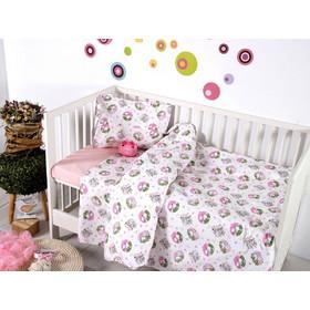 970d8c79d50 Σεντόνια Σετ Κούνιας Sb Home Baby Line Baby Elvin Pink