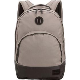 ead8d2fe54 Τσάντα Nixon από πολυεστέρα σε μπεζ χρώμα και σκούρα γκρι απόχρωση στο κάτω  και το πίσω μέρος. Διαθέτει θήκη για laptop και εξωτερική τσέπη με διάφορες  ...