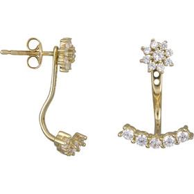 Γυναικεία σκουλαρίκια καρφωτά Κ14 022435 022435 Χρυσός 14 Καράτια 81a830c49af