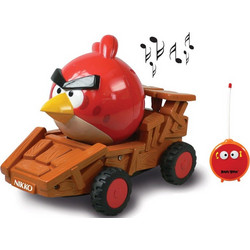 ceb1d0292b ΤΗΛΕΚΑΤΕΥΘΥΝΟΜΕΝΟ ΟΧΗΜΑΤΑΚΙ NIKKO PS ANGRY BIRDS RED BIRD 34 180037A