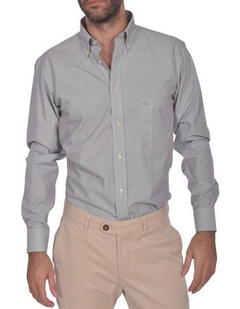 Dur ανδρικό πουκάμισο ριγέ button down Regular fit - 10210043 - Γκρι adf715b5d20