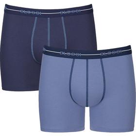 dee57d8daec8 Sloggi Men Boxer Start Short Μπλε-Μπλε Γαλάζιο 2τεμ
