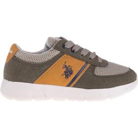 760050e8b5dd US POLO Fosco Sneaker 28-39 - Χακί - US4125S9 15 2