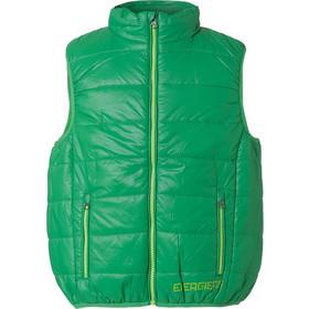 49902c971f1 Τζάκετ αμάνικο με χρωματιστό φερμουάρ 13-216013-1-1 - Πράσινο - 10790