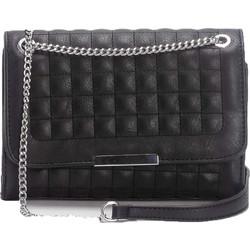 e270fc9ab6 Καπιτονέ τσάντα χιαστί - Μαύρο
