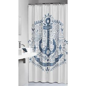 Κουρτίνα Υφασμάτινη Anchor Blue Sealskin 180x200εκ. - sealskin - 233651324 da27311ec5e