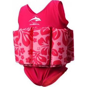 d3acd51afdd Σωσίβιο - ολόσωμο μαγιό Konfidence(TM) Floatsuit Clownfish Pink Hibiscus  1-2 ετών