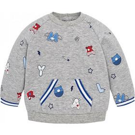 Βρεφική Μπλούζα Mayoral 18-02422-047 Γκρι Αγόρι 6039ae35cb8