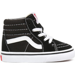 VANS SK8-HI TODDLERS SHOES BLACK TRUE WHITE VA3TFX6BT fd890821b