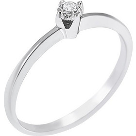 1fc41fde8b Ασημένιο δαχτυλίδι White Distinctive