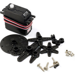 360 Degree Rotary Steering Servo - Black (OEM)