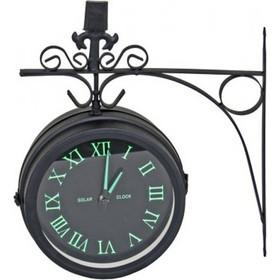 Διακοσμητικό Ρολόι Τοίχου Μεταλλικό Σταθμού Διαστάσεων 32x37x11cm 8c0e3e9f93f