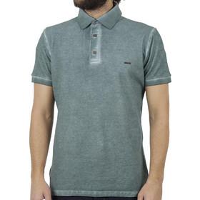d433e155275f Ανδρικό Κοντομάνικη Μπλούζα με Γιακά Polo Back2jeans B29 Pesto