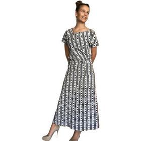 a4d6c3b793ac LONG DRESS SHORT SLEEVE - BUTTONS (Print 2)