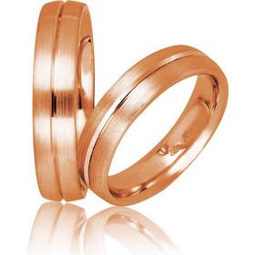 Βέρες Γάμου Ροζ Χρυσός Στεργιάδης 731 Κ9 Κ14 ή Κ18 5.00 χιλ 5cd9ebd527b