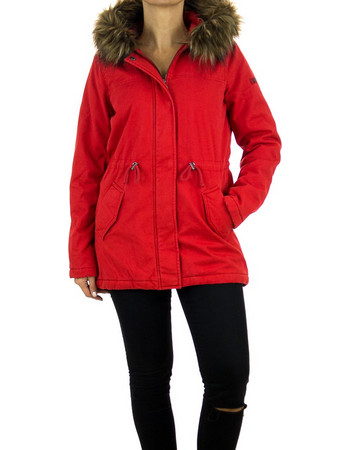 Γυναικεία Μπουφάν Tom Tailor • Κόκκινο  d3b813ff02f