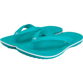 92d795d810f Crocs 11033 380 Crocband Flip Tropical Teal White Relaxed Fit