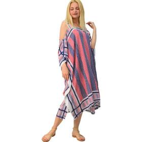 2ae2003fa204 Φόρεμα καφτάνι με ακάλυπτους ώμους
