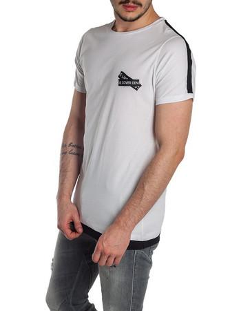 ανδρικες μπλουζες ασπρες · ΔημοφιλέστεραΦθηνότεραΑκριβότερα. Εμφάνιση  προϊόντων. T-SHIRT COVER DENIM - 018442 - WHITE ad845640ae4