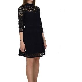 38d80fa9865 Φόρεμα Από Δαντέλα Toi & Moi 50-3901-19 Μαύρο toi moi 50-
