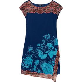 c695dfd2af4b Desigual γυναικείo μίνι φόρεμα με άνοιγμα Reset - 19SWVWAH - Μπλε Σκούρο