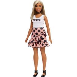 8b66cd1497b Mattel Barbie Fashionistas Πουά Φούστα & Λευκό Μπλουζάκι