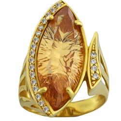 Δαχτυλίδι χρυσό 14 καράτια με πέτρες ζιργκόν 0175251149e